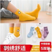 秋冬款中筒男小孩女童儿童袜子1-3-5-7-8-11岁宝宝儿童袜子纯棉