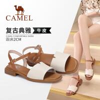 camel骆驼2019夏季新款 秀美典雅 温婉淑女 凉鞋女