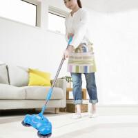 手动家用手推式扫地机扫地机手推式家用懒人扫地器手动吸尘器扫帚笤帚扫把簸箕套装扫地器颜色随机