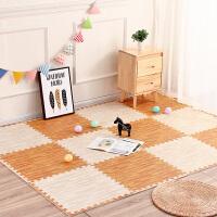 仿木纹家用拼接大号泡沫地垫拼接卧室儿童爬爬垫榻榻米地板垫子