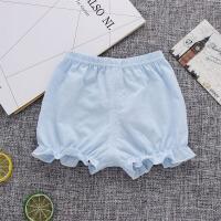 女童短裤宝宝裤子婴儿打底裤灯笼裤夏季薄款面包裤外穿可开档