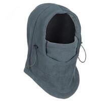 双层抓绒保暖帽 CS飞虎面罩 围脖 骑行护耳防风面罩