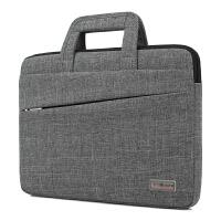 茉蒂菲莉 手提电脑包 休闲笔记本平板内胆包商务手提电脑包牛津布公文包