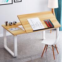 良木电脑桌宜家家居书桌简约家用经济型学生卧室学习写字桌旗舰