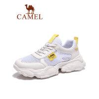 camel骆驼男鞋2019夏新款运动鞋男增高百搭鞋子男潮鞋老爹鞋时尚休闲鞋