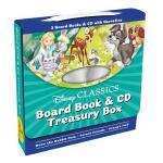 【预订】Disney Classics Board Book & CD Treasury Box