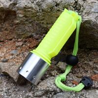 T6光潜水手单手电筒头灯水下远射防水光 LED潜水照明灯