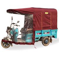 腾飞龙电动三轮车车棚遮阳棚挡雨棚方管折叠封闭三轮车棚遮阳棚