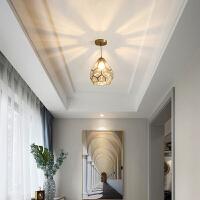 北欧简约走廊过道灯吊灯个性创意玄关阳台入户吊灯厨房灯具
