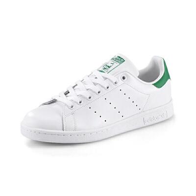 正品 Adidas/阿迪达斯史密斯Stan Smith板鞋男女款M20324绿尾*赔十