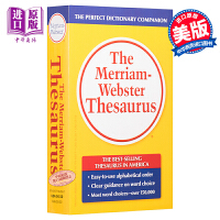 【中商原版】韦氏同义词英英字辞典英文原版The Merriam-Webster Thesaurus 英文原版
