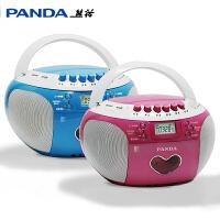 熊猫CD350 CD机DVD碟片复读MP3磁带U盘卡带录音收音插卡英语光盘胎教播放机英语听力教学用学生录放收录机 光盘
