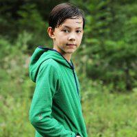 探路者Toread kids 男童时尚简约户外运动系列摇粒绒外套
