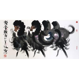 W2038 韩美林《骆驼》(作者家属提供)