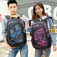 背包女双肩包男韩版潮女士电脑包初高中学生书包休闲大容量旅行包