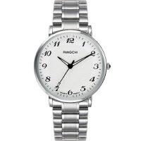 耐磨全钢壳中老年手表男士大数字表盘钢带老人手表女表防水石英表