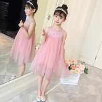 女童春装连衣裙儿童装夏季时尚裙子韩版中大童洋气公主裙