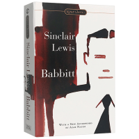 Babbitt 英文原版文学书 巴比特辛克莱刘易斯 Sinclair Lewis 诺贝尔文学奖 英文版原版 正版进口英语