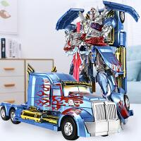 儿童大黄蜂汽车机器人手办模型儿童男孩合金变形玩具机器人