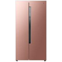 Haier/海尔[官方直营] 海尔冰箱 BCD-618WDVGU1 变频风冷干湿分储对开门冰箱 压缩机风机双变频  高贵玫瑰金优雅时尚
