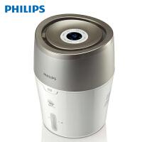 飞利浦(PHILIPS)加湿器 上加水 自动湿度设置 湿度数显 纳米无雾恒湿 静音卧室办公室家用加湿 HU4803/0