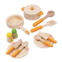 Hape 过家家玩具 3岁以上 角色扮演益智玩具 厨房厨具配件 E3103