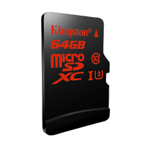 金士顿64g Micro存储SD卡超高速tf卡读90写80MB高清手机内存卡64G