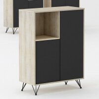 办公家具简约现代木质活动柜办公室茶水柜储物柜室柜子矮柜 规格一 25mm