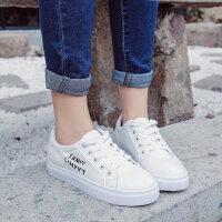 韩版休闲百搭小白鞋学生板鞋女生女鞋新款白色运动鞋秋季女鞋