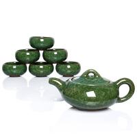 尚帝 绿功夫茶具套装 陶瓷茶具套装 冰裂纹功夫茶具套装 DTBZS722