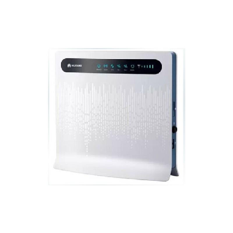 华为华为B593S-850移动4G 3G路由器直插卡LTE CPE企业4G wifi路由器 支持32用户 移动4G3G 全国联保