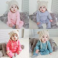 婴儿冬季儿童长袖休闲睡衣男女童宝宝小孩家居服套装秋冬装新年