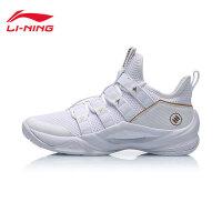 李宁篮球鞋男鞋2019新款透气包裹性耐磨防滑男士低帮战靴运动鞋ABAP049
