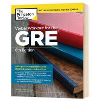 普林斯顿GRE语文练习册第六版 英文原版 Verbal Workout for the GRE 6th Edition