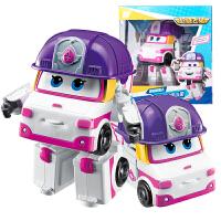 奥迪双钻超级飞侠玩具大号变形机器人全套装小飞侠玩具 大变形飞侠-小柔