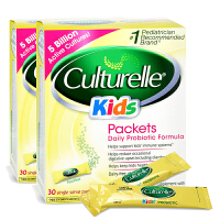 美国直邮 Culturelle康萃乐 婴幼儿童LGG宝宝益生菌冲剂粉剂 1.5g*30袋*2盒 海外购