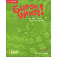 Guess What! Level 3 Activity Book with Online Resources Brit