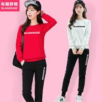 休闲运动服套装女时尚2018春秋季新款韩版学生冬季长袖卫衣两件套
