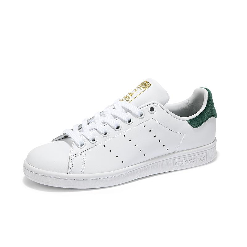 【新品】阿迪达斯三叶草中性鞋stan smith史密斯绿尾金标小白鞋板鞋BY9984*赔十
