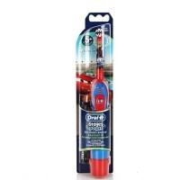 【男孩汽车版】博朗 欧乐B DB4510K时控型电动牙刷D4干电池用牙刷 儿童牙刷
