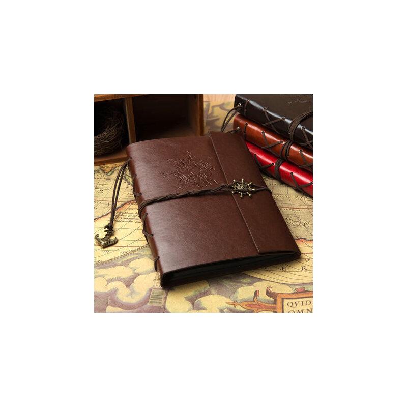 皮革diy手工粘贴式相册影集情侣拍立得相册本创意礼物情侣纪念册 复古皮质,持久留存。