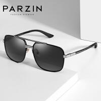 帕森偏光太阳镜男士时尚大框眼镜开车方框驾驶镜墨镜2019新品8208