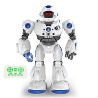 星域传奇 遥控智能机器人早教机益智玩具机械战警电动玩具男孩儿童手感应遥控摩卡战警多功能唱歌跳舞