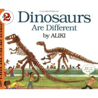 Dinosaurs Are Different (Let's Read and Find Out) 自然科学启蒙2:各