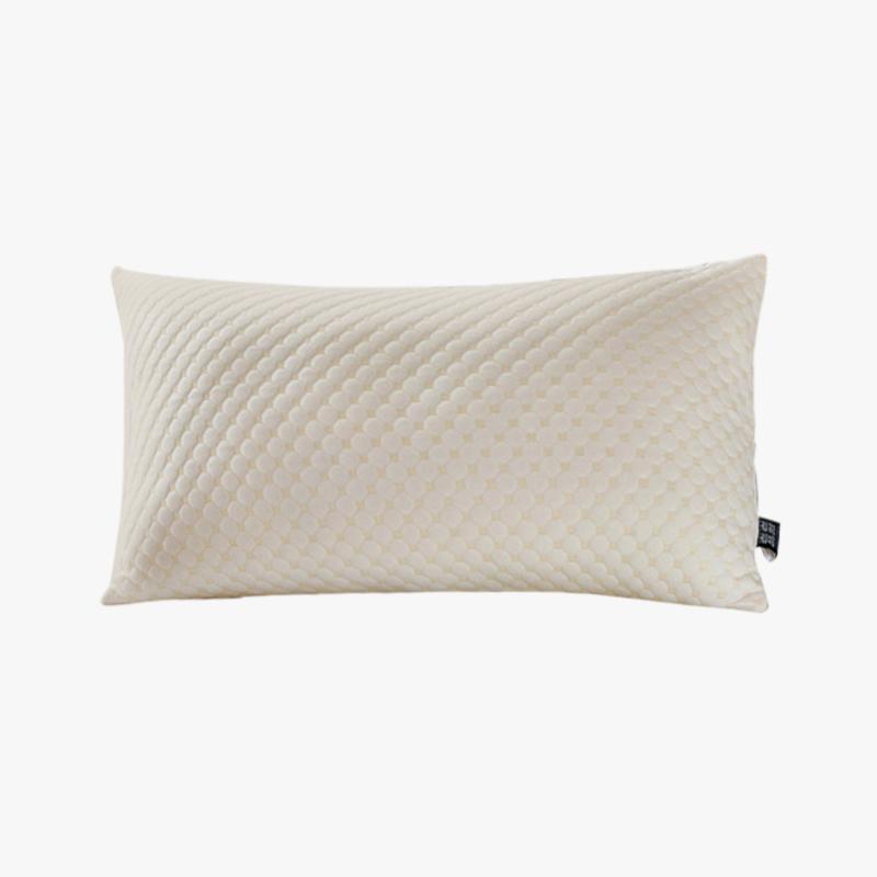 当当优品 蜂巢羽丝枕 可水洗枕芯枕头 48x74当当自营 柔软舒适 高弹蓬松 吸湿透气
