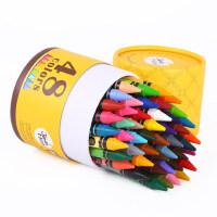 美乐蜡笔儿童安全无毒可水洗宝宝画笔套装幼儿园36色24色小学生幼儿绘画彩色画画涂鸦笔彩笔水溶性油画棒蜡笔