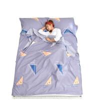纯棉便携式双人睡袋 出差宾馆酒店单人隔脏睡袋 旅游出行防脏床单