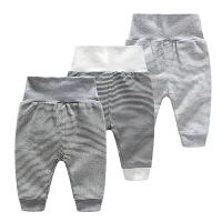婴儿裤子春季3个月新生儿宝宝春季款休闲高腰打底裤子1岁