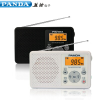 熊猫6105英语四六级听力考试专用收音机调频广播学生高考便携式fm迷你小型老人半导体收音机