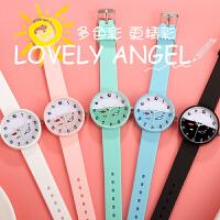 韩版潮流女士手表防水时尚休闲大气学生儿童手表大童可爱